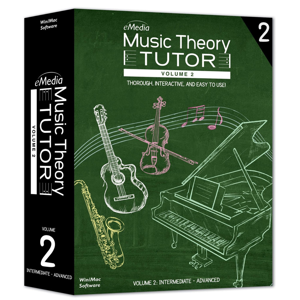 Adium Music Theory Tutor Volume 2 - Macintosh [Download] - Bananas At Large®