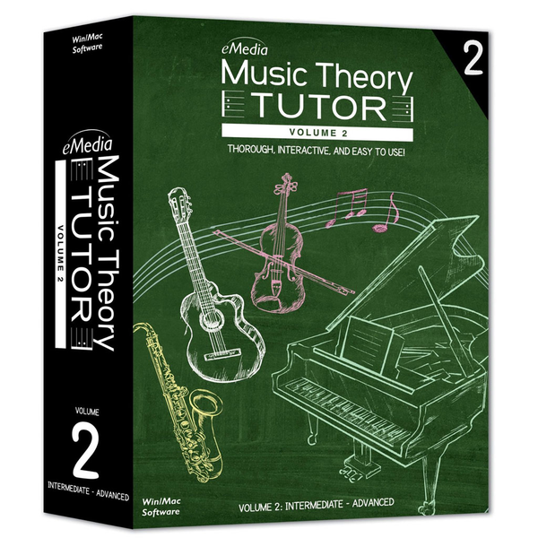 Adium Music Theory Tutor Volume 2 - Windows [Download] - Bananas at Large - 1