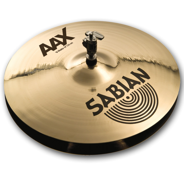 Sabian 21402XBV 14 in. AAX V-Hats - Bananas at Large
