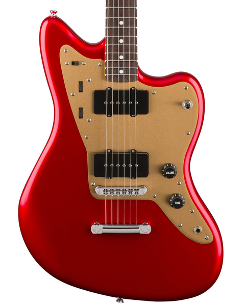 Squier Deluxe Jazzmaster ST with Rosewood Fingerboard - Candy Apple Red