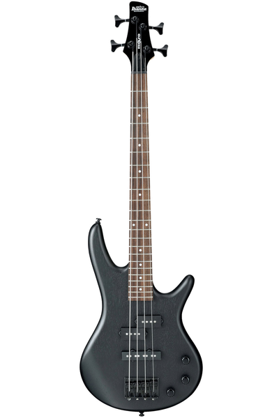 Ibanez GSRM20 Mikro 4-string Electric Bass - Weathered Black - Bananas at Large