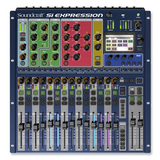 Soundcraft Si Expression 1 16 Channel Digital Mixer - Bananas at Large
