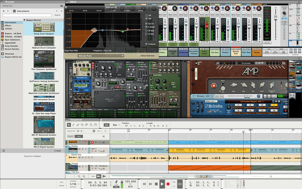Propellerhead Reason 8 Software and DAW - Bananas at Large - 3