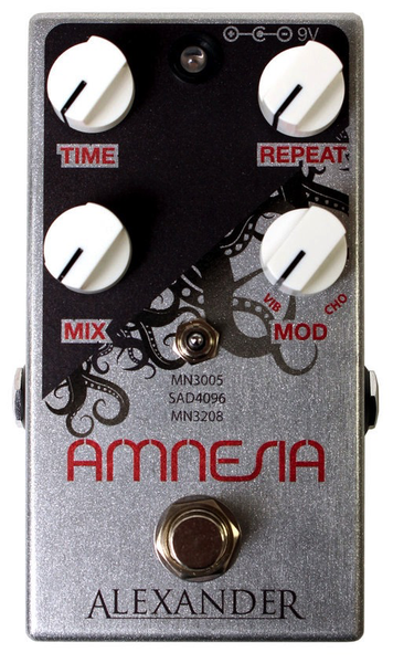 Alexander Pedals Amnesia Vintage Delay Pedal - Bananas at Large