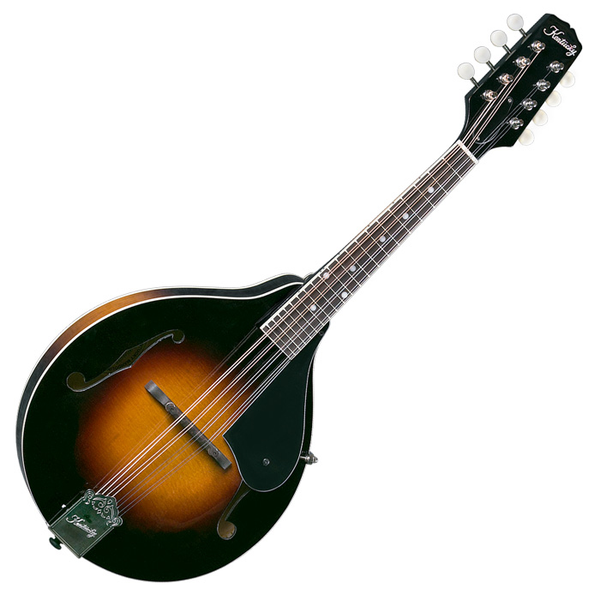 Kentucky KM-140 Standard A-Model Mandolin, Sunburst - Bananas at Large