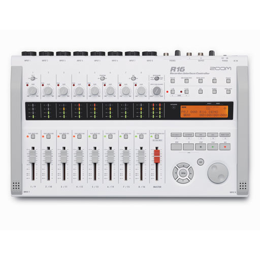 Zoom R16 Multitrack SD Recorder Controller and Interface - Bananas at Large