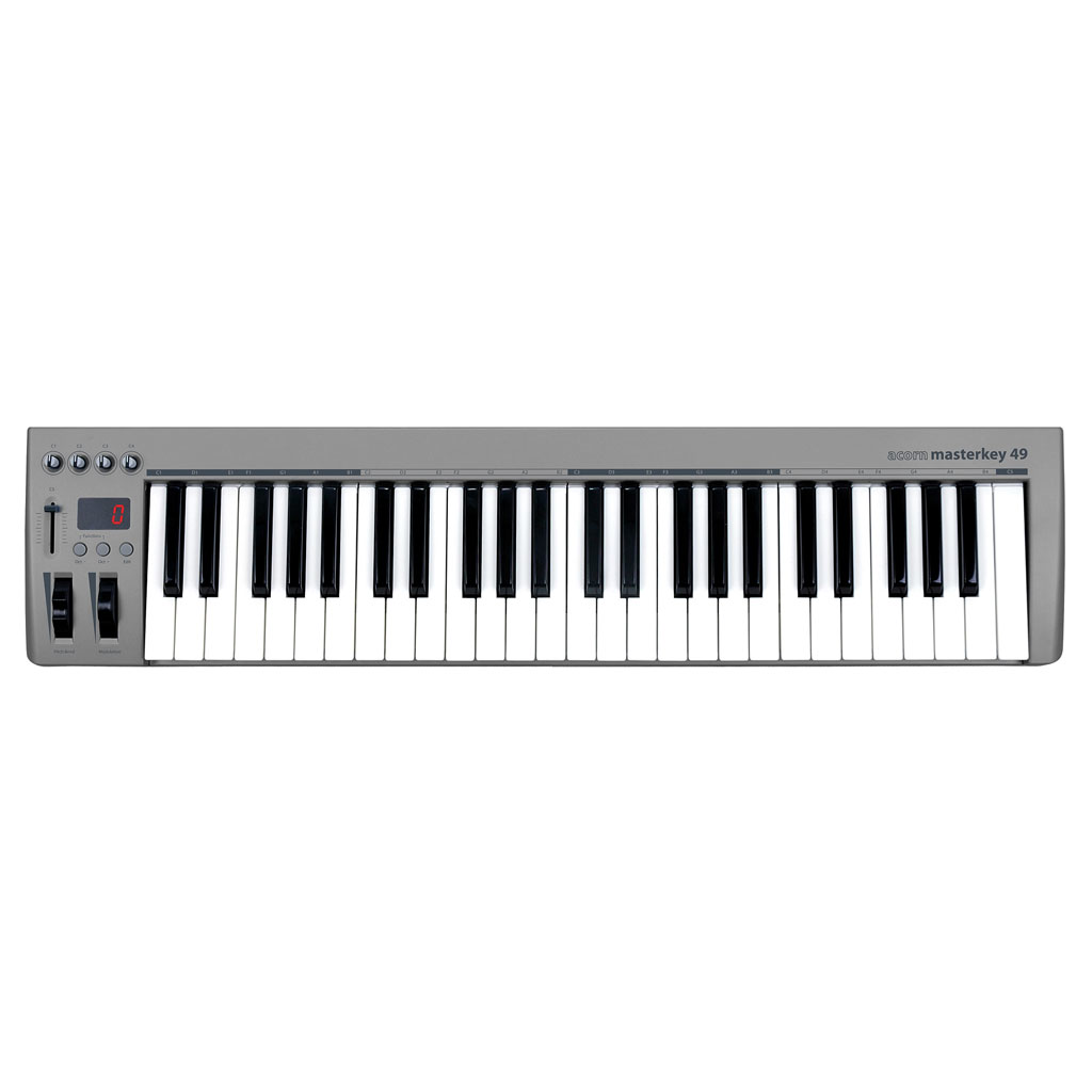 Acorn Instruments Masterkey 49 49-Key USB Controller Keyboard Included Presonus Studio One Artist - Bananas At Large®