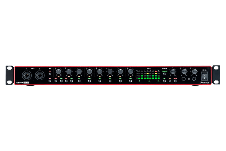 Focusrite Scarlett 18i20 3rd Gen USB Audio Interface