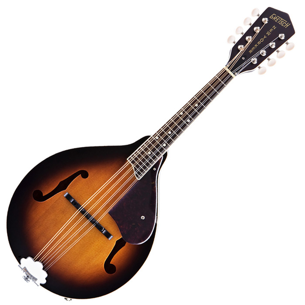 Gretsch G9320 New Yorker Deluxe Acoustic Electric Mandolin - 3 Color Sunburst - Bananas At Large®