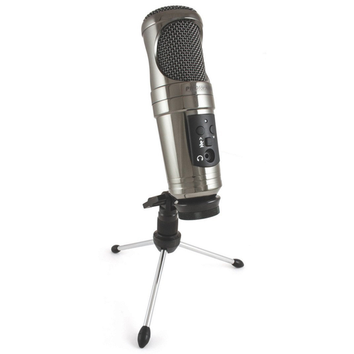 PROformance P755USB Collectors Edition USB Condenser Microphone  - Black Mirror Chrome