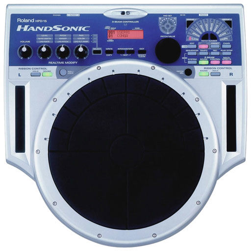 Roland HPD-15 Handsonic Drum Pad - Bananas at Large