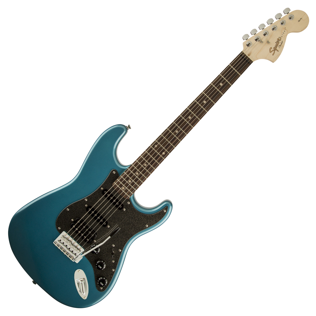 Squier Affinity Series™ Stratocaster® HSS Rosewood Fingerboard - Lake Placid Blue - Bananas at Large