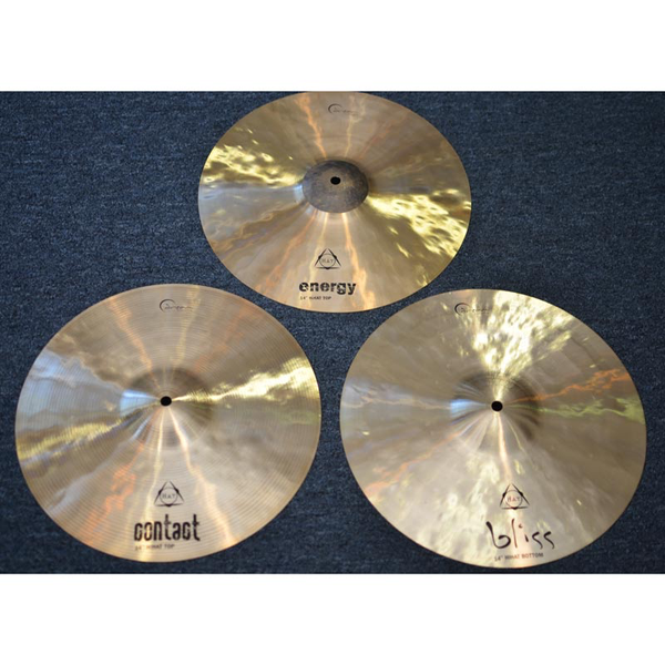 Dream Cymbals Tri Hat Elements 14 in. Cymbal Set