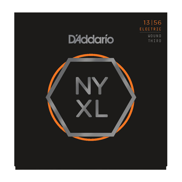 D'Addario NYXL1356W Nickel Wound Medium Wound 3rd Electric Strings .013-.056 - Bananas At Large®