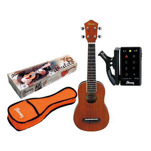 UKULELE PACKAGE W/ BAG TUNER - Bananas at Large