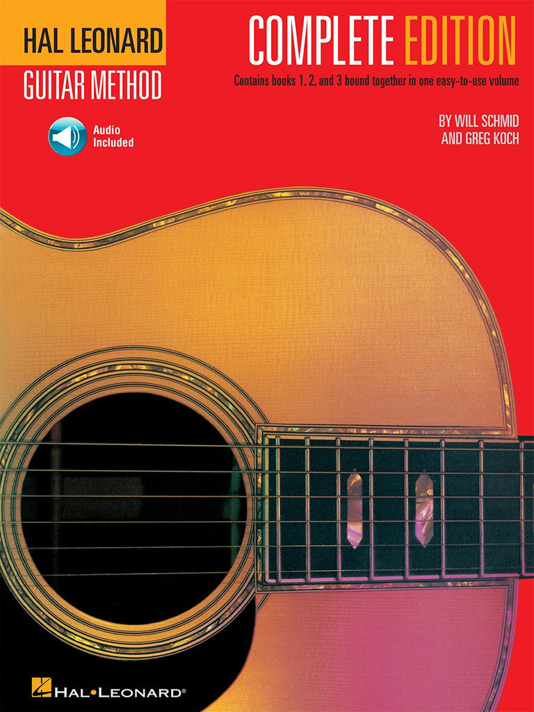 Hal Leonard Guitar Method, Second Edition – Complete Edition Books 1, 2 and 3 Bound Together in One Easy-to-use Volume! - Bananas At Large®