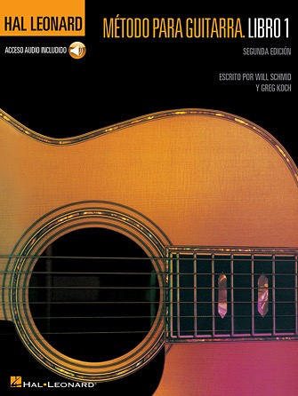 Hal Leonard Guitar Method Book 1 Second Edition - Spanish