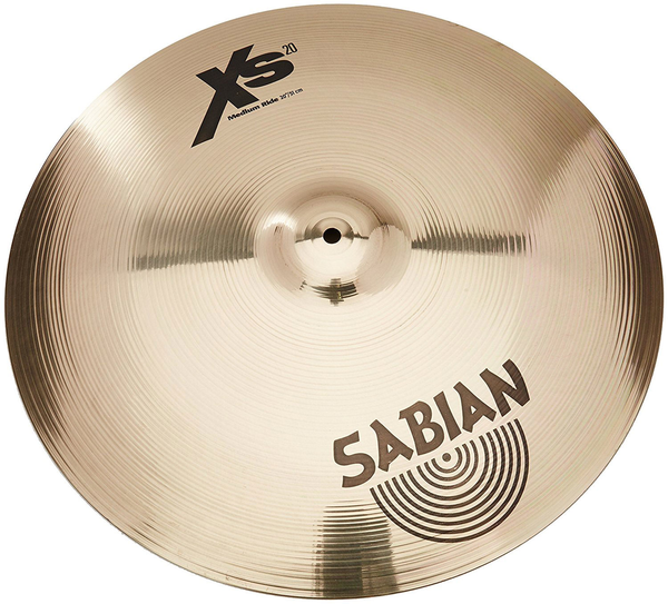 Sabian Xs2012B 20 in. Medium Ride Cymbals with Brilliant Finish - Bananas at Large