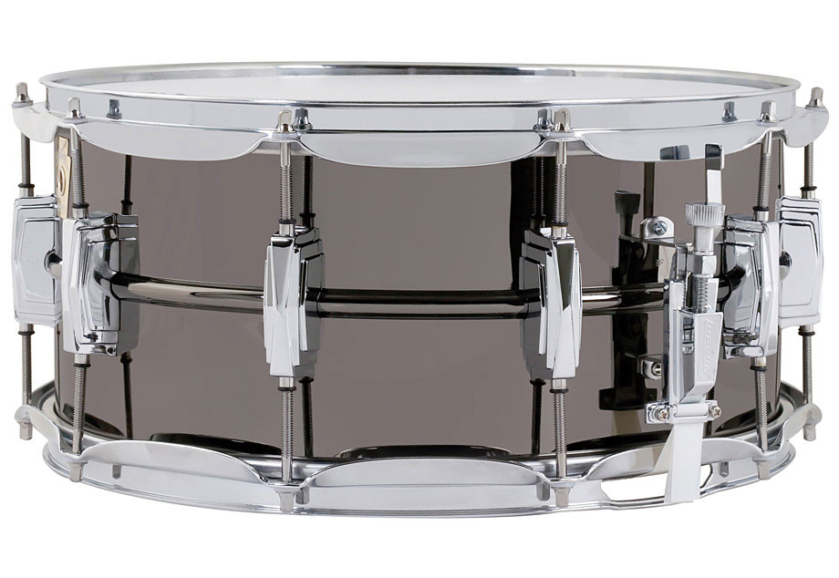 Ludwig LB417 6.5X14 Supraphonic Black Beauty Snare Drum - Bananas at Large
