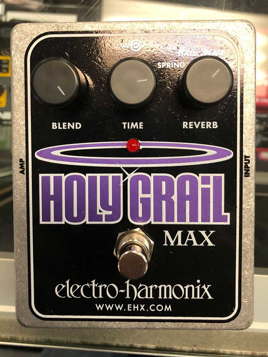 Electro Harmonix Holy Grail Max Pedal (Pre-Owned)