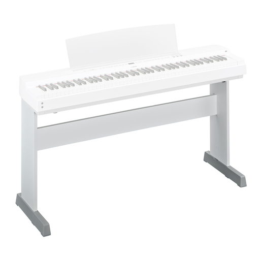 Yamaha L255WH Electronic Keyboard Stand For P-255, White - Bananas at Large