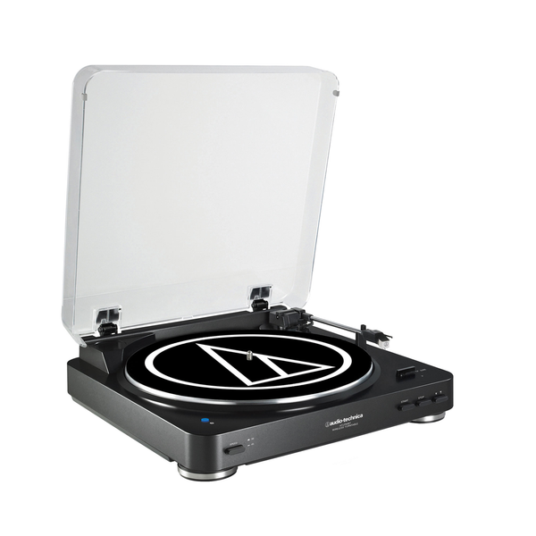 Audio Technica AT-LP60BK-BT Fully Automatic Wireless Belt-Drive Stereo Turntable - Bananas at Large