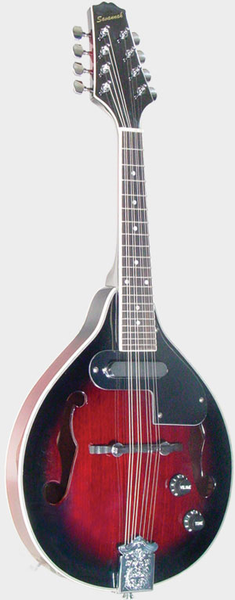 Savannah A-Model Electric Mandolin Mahogany - Bananas at Large