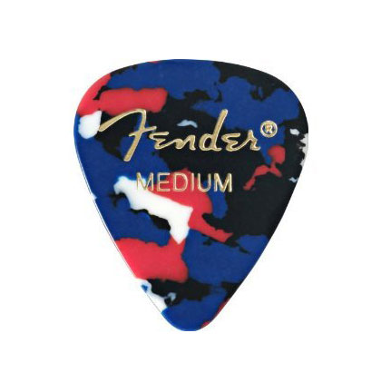 Fender 351 Shape Classic Medium Picks 12 Count Pack - Confetti - Bananas at Large