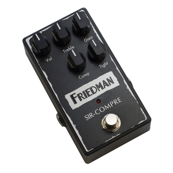 Friedman SIR COMPRE Compressor Pedal with Built-In Overdrive - Bananas At Large®