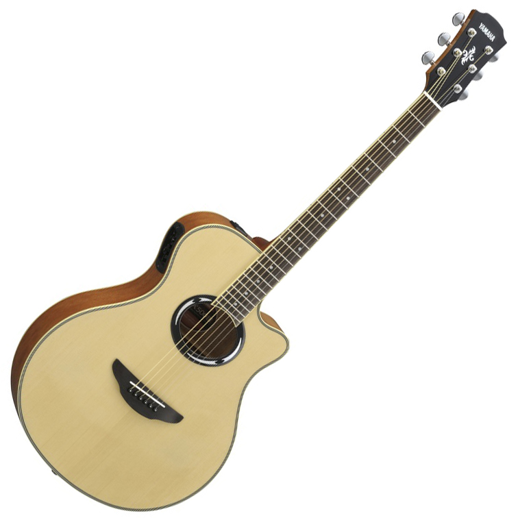 Yamaha APX500 III Thinline Acoustic Electric Guitar - Natural - Bananas at Large