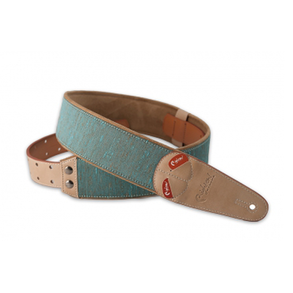 RightOn! Mojo Guitar Strap Boxeo Teal - Bananas at Large