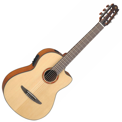 Yamaha NCX700 Acoustic Electric Classical Guitar, Natural - Bananas at Large