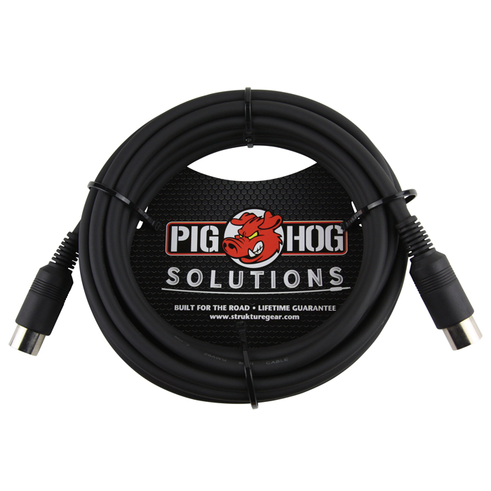 Pig Hog PMID15 Solutions 15ft MIDI Cable - Bananas at Large