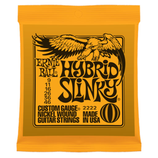 Ernie Ball Hybrid Slinky Nickel Wound - Bananas at Large