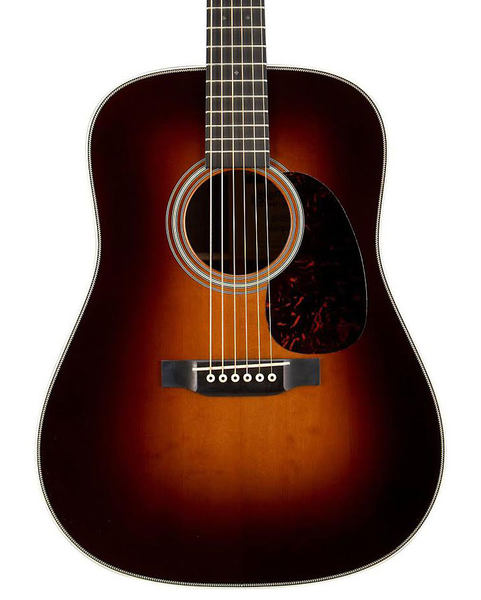Martin D-28 Marquis Sunburst Acoustic Guitar with Case - Bananas at Large - 1