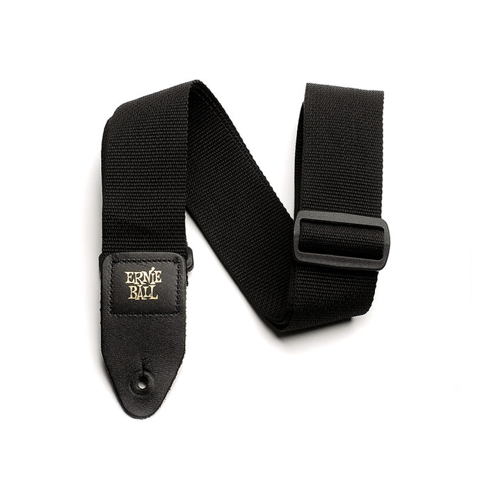 Ernie Ball Black Polypro Guitar Strap