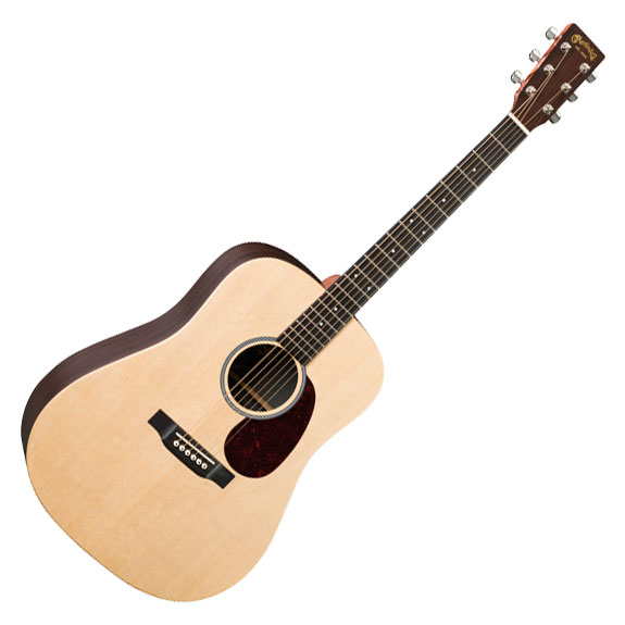 Martin DX1RAE X Series Dreadnought Acoustic Electric Guitar - Bananas at Large