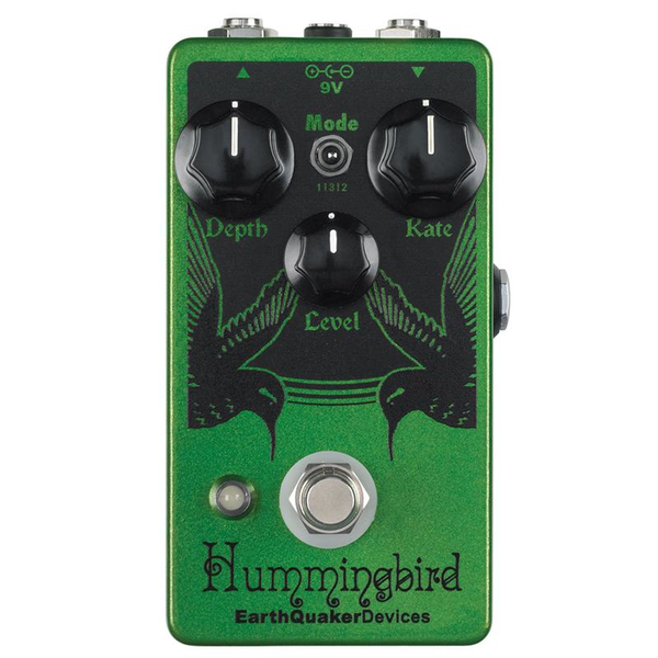 EarthQuaker Devices Hummingbird V3 Repeat Percussions Pedal - Bananas at Large