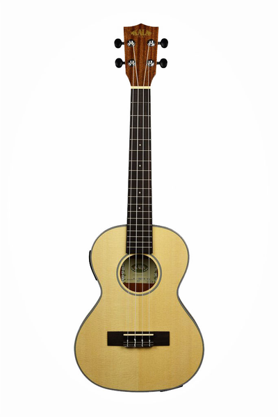 Kala KA-SSTU-TE Thinline Travel  Tenor Ukulele  With B-Band EQ - Bananas at Large - 1