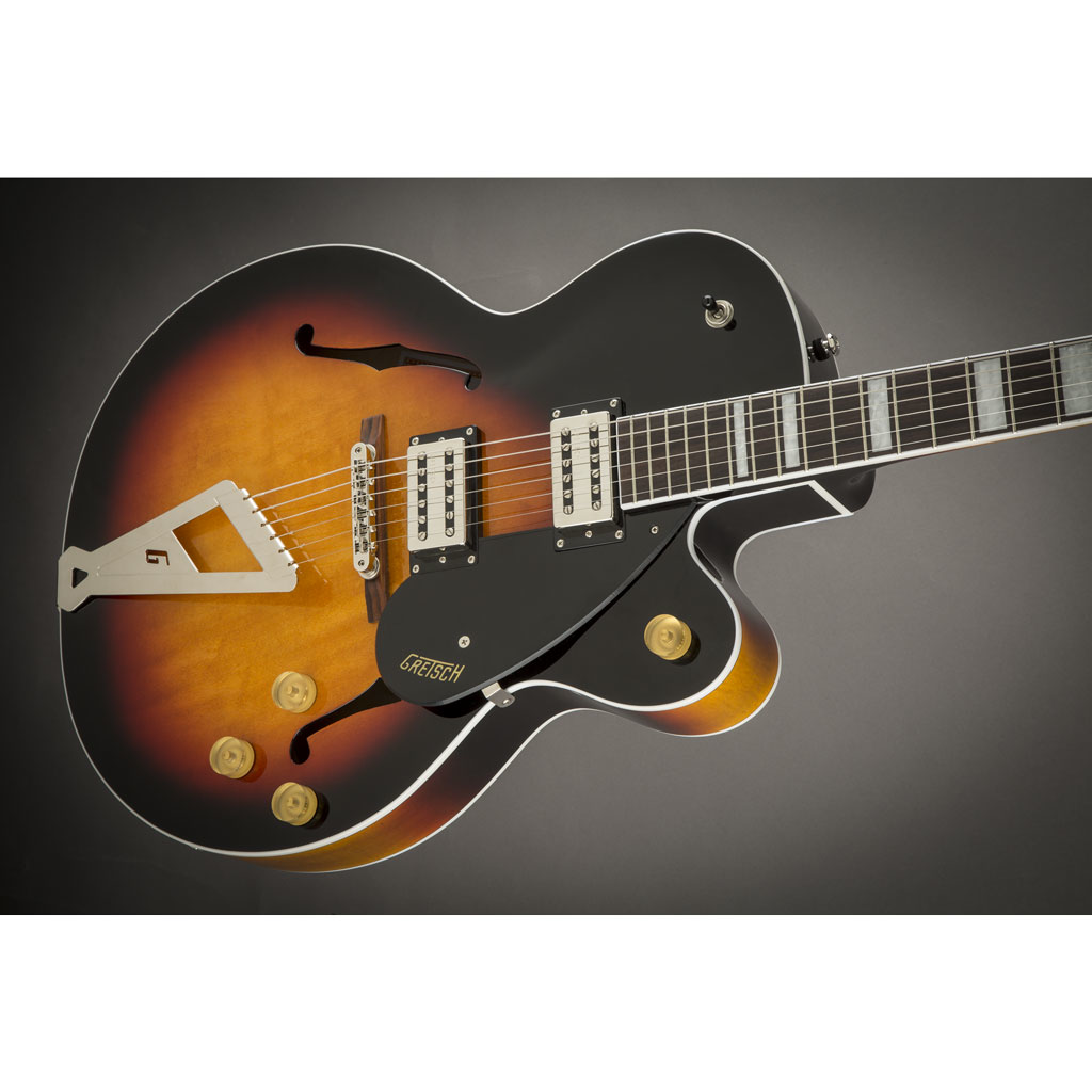 Gretsch G2420 Streamliner Hollow Body with Chromatic II Tailpiece and Broad'Tron Pickups - Aged Brooklyn Burst - Bananas At Large®