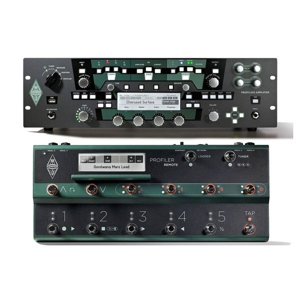 Kemper Profiler Rack with Remote Controller - Bananas at Large