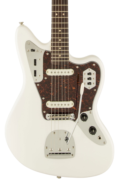 Squier Vintage Modified Jaguar with Rosewood Fingerboard - Olympic White