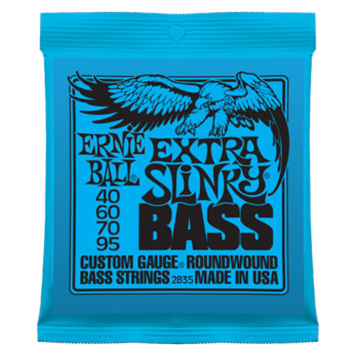 Ernie Ball Extra Slinky Bass Nickel Wound - Bananas At Large®