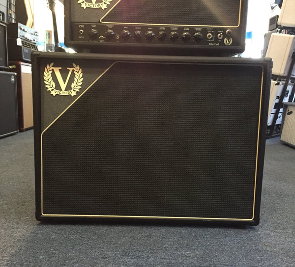 Victory V212S 2x12 Guitar Amp Cab with cover (Pre-Owned)