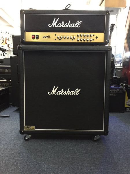 Marshall 1960B Straight 4x12 Cab with casters (Pre-Owned)