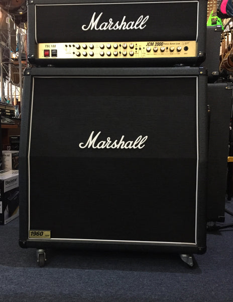 Marshall 1960A 4x12 Slant Cab with Casters (Pre-Owned)