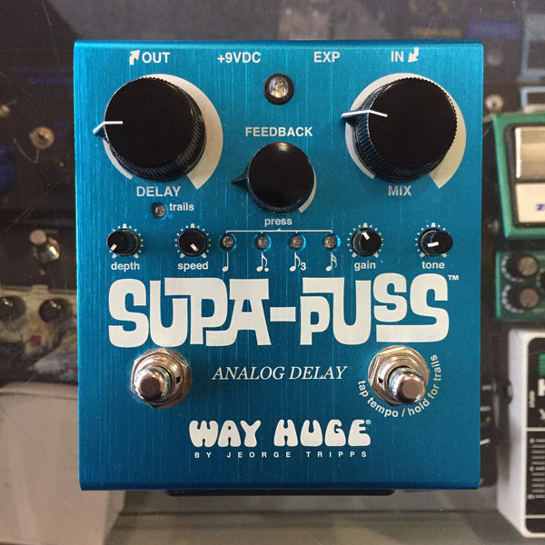 Way Huge Supa Puss Analog Delay Pedal (Pre-Owned)