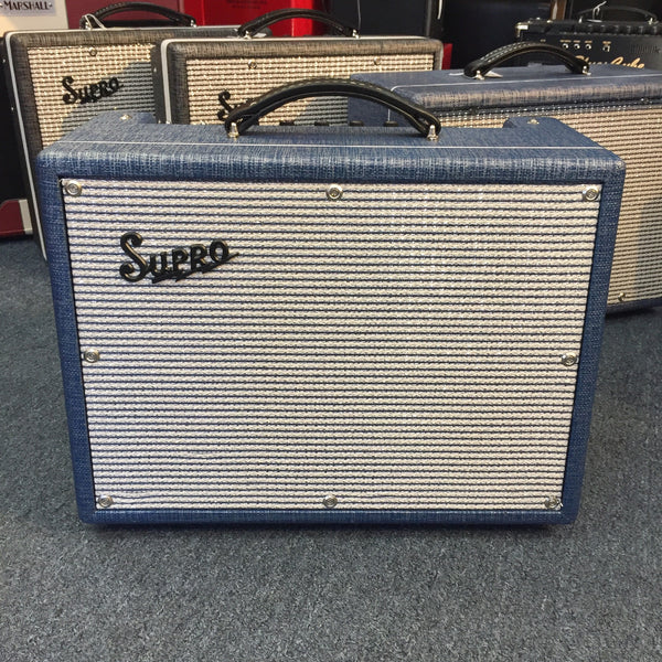Supro Tremo-Verb 1622 RT Guitar Amp with Cover (Pre-Owned)