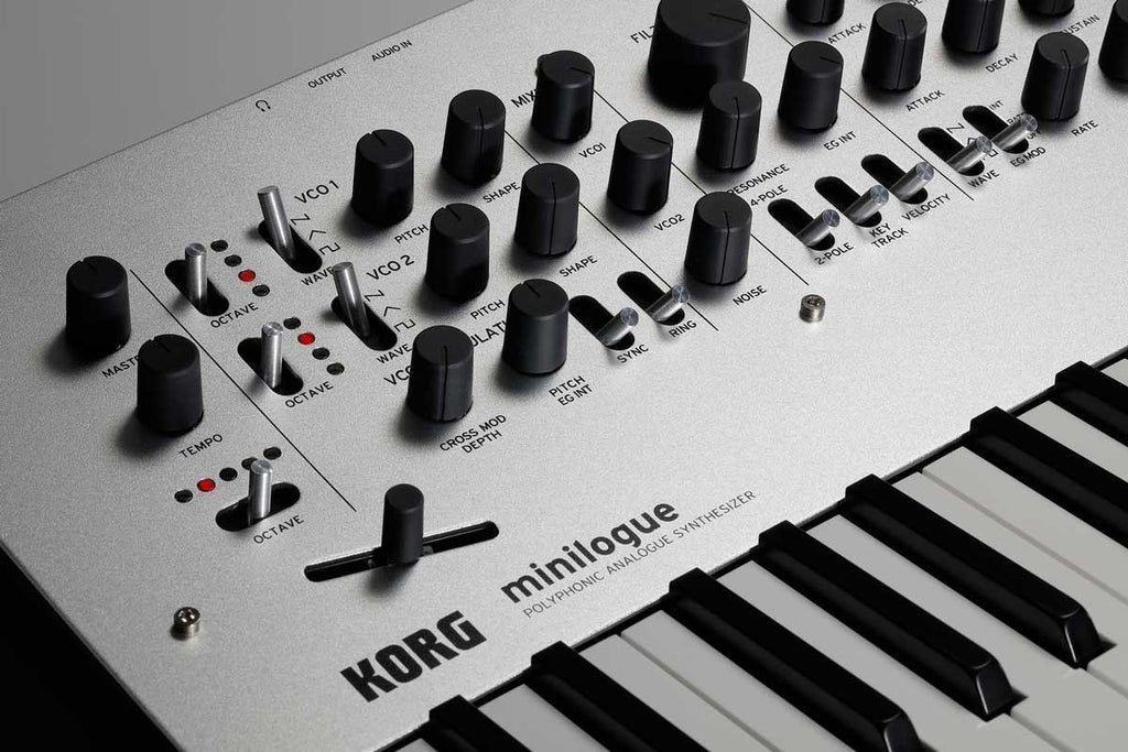 Korg Minilogue Polyphonic Analogue Synthesizer - Bananas At Large®