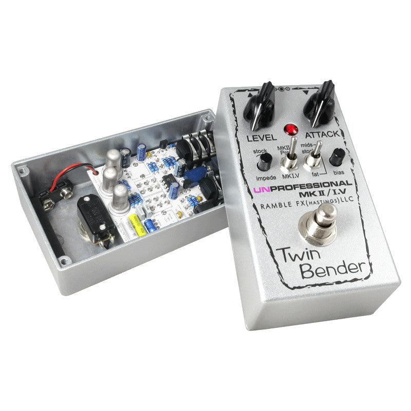 Ramble FX Twin Bender 3 MKII/MK1.5 In One Pedal - Bananas at Large - 5